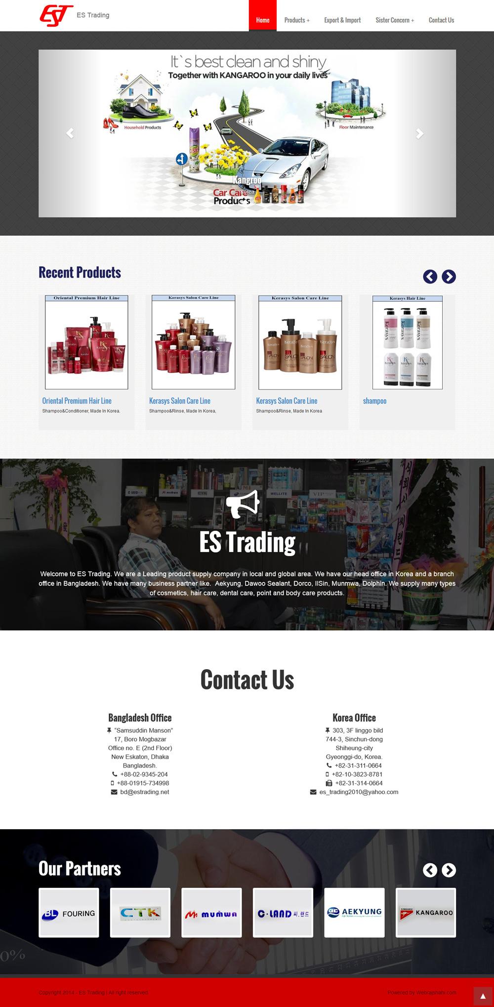 Portfolio of Zahurul - a freelance Web Designer & Developer